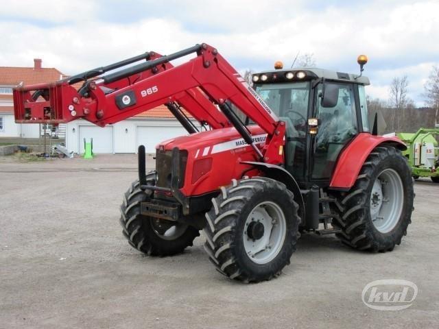 Massey Ferguson Tractor Loader Backhoe : Massey ferguson tractor with loader