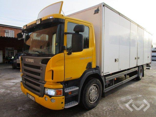 Scania P230DBMNB 4x2 Box (side doors + tail lift) - 09
