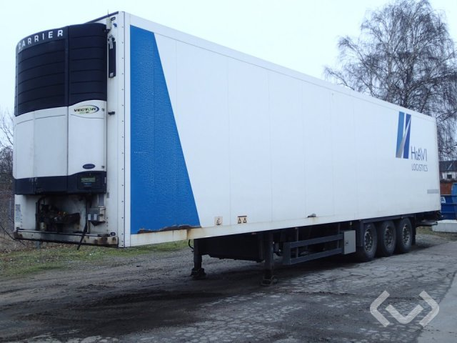 Schmitz SKO24 3-axlar Box Trailer (freezer units) - 09