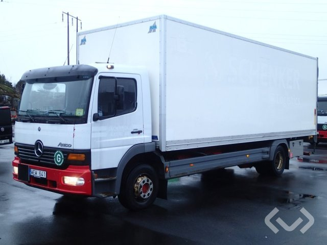 Mercedes Atego 1223 4x2 Box (tail lift) - 05