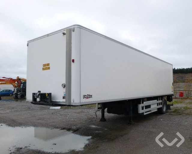 Chereau S1211K 1-axel Box - Chillers - 10