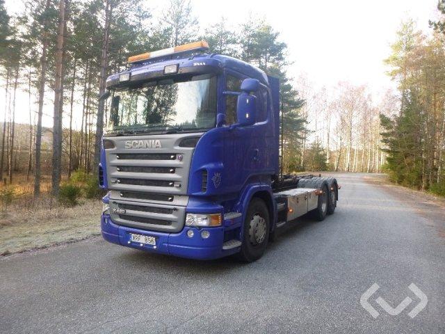 Scania R420LB HNB 6x2*4 Hook trailer (swap body trailer) - 06