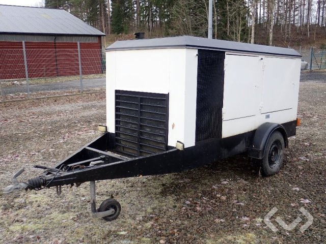 Asea mobile generator 60 kVa - 85