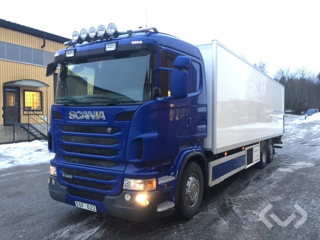 Scania R440LBMNB 6x2*4 Box (chillers + tail lift) - 10