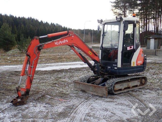 Kubota KX61-3 Mini excavator - 08