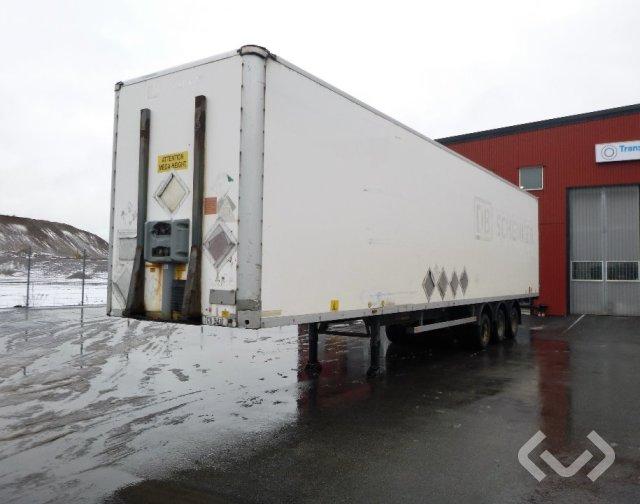 Fruehauf ONCR 36-324A 3-axlar Box Trailer - 05