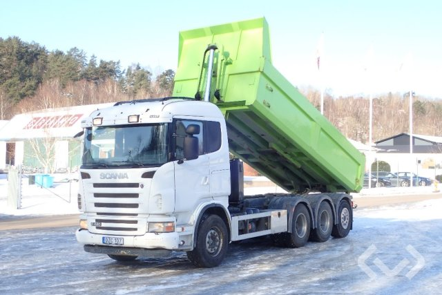 Scania G480 LB HHA 8x4*4 Tipper - 08