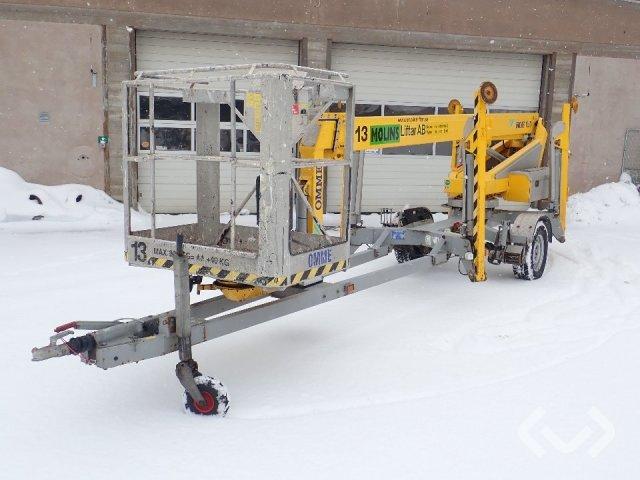 Omme FT 1250 EBZ Skylift / trailer lift - 08