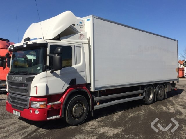 Scania P320LBMNA 6x2*4 Box (chillers + tail lift) - 12