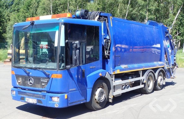 Mercedes 2633 Econic (Rep. item) 6x2 Garbage truck (rear loader) - 13