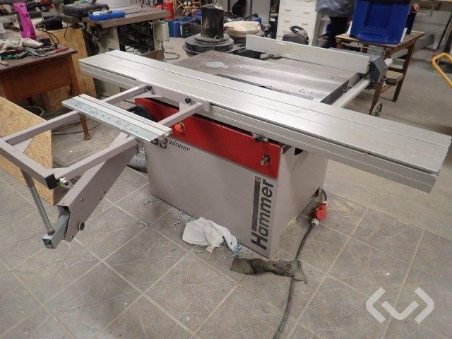 Hammer B3 winner adjustable saw & dust extractor
