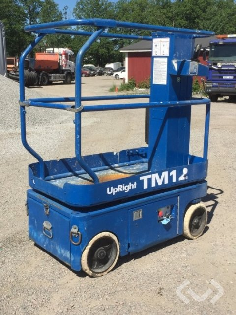 Upright TM12 Vertical Mast Lift - 06