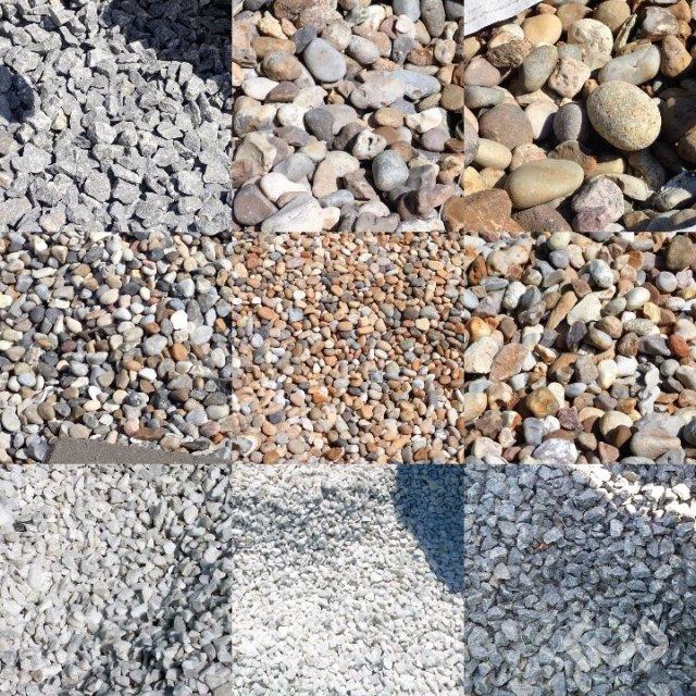 Granite cobblestones, edge stones, stair blocks, grind posts etc.