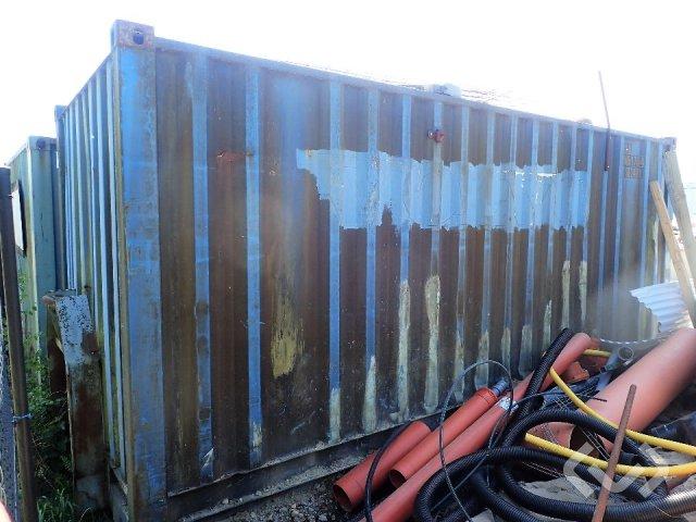 Nordplåt AB Container on flatbed + div equipment - 85