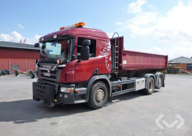 Scania P340LB 4HNB 6x2 Hook trailer (swap body trailer) - 08