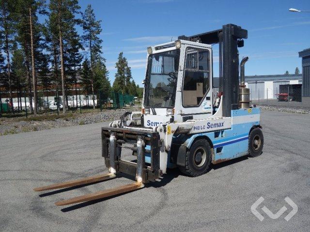 Semax P40 forklift (diesel) - 00