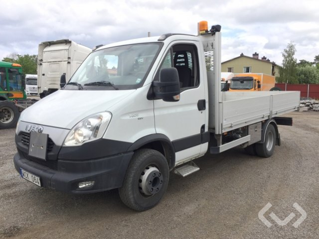 Iveco DAILY 70C17 EEV 4x2 Flatbed dropsides (crane) - 12