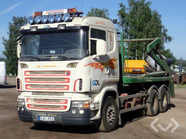 Scania R420LBHHZ Liftdumper 6x2 Liftdumper - 06