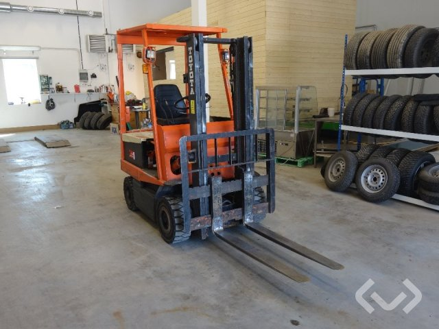 Toyota Classic 4FBL15 forklift (electric)