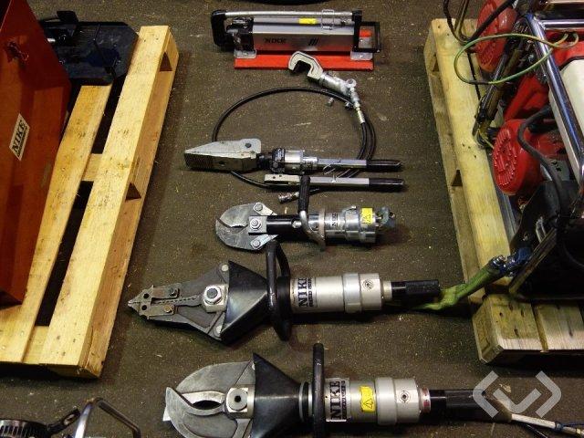 various hydraulic pumps, hydraulic tools, power plants etc.
