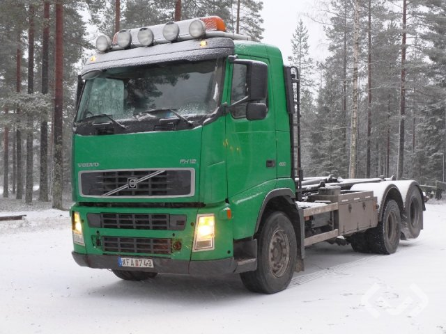 Volvo FH12 6x2 Hook trailer (swap body trailer) - 06