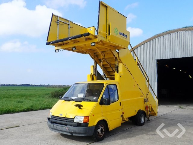 Ford Transit aircraft stairway