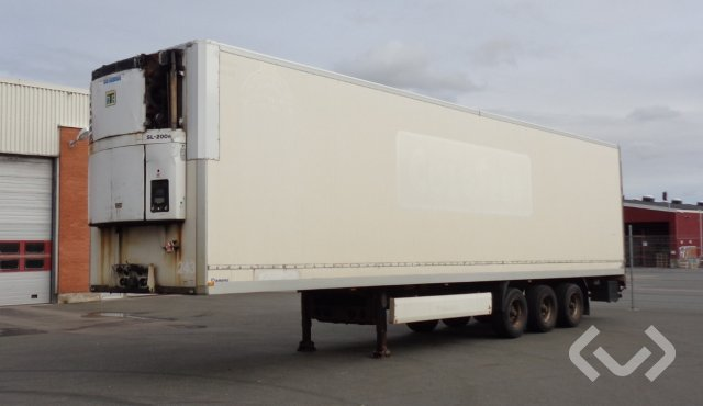 Krone SDR 27 ELFT 3-axlar Box Trailer (Chiller) - 04