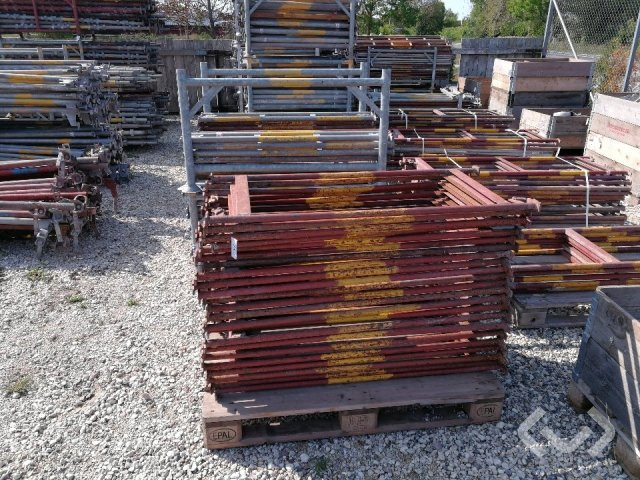 Haki system scaffolding