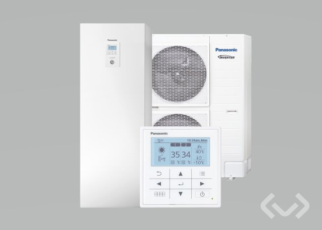 Panasonic Aquarea All-in-One T-CAP heat pump (new)
