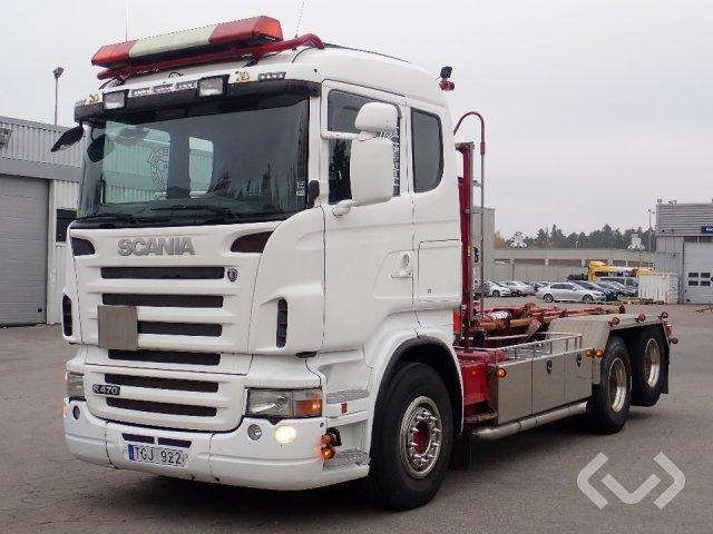Scania R480LBHSZ  6x2 Hook trailer (swap body trailer) - 09