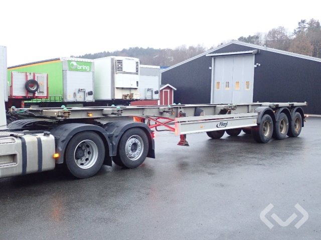 Fliegl SDS 400 3-axlar Interchangeable Trailer (Container) - 11