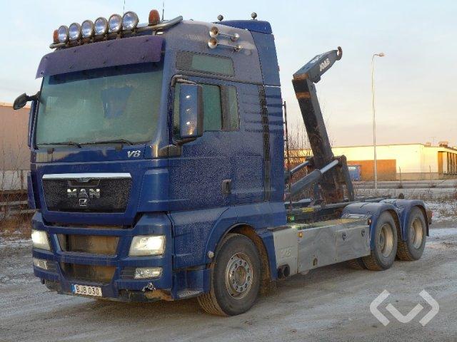 MAN TGX 33.680 BL (Rep. item) 6x4 Hook trailer (swap body trailer) - 08