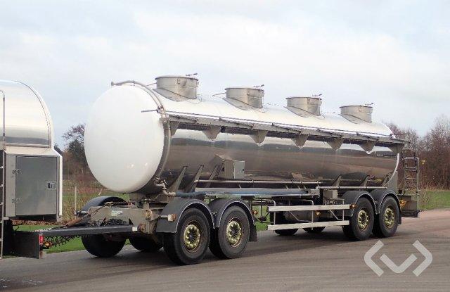 Magyar R36ESD 4-axlar Tanker trailer (dairy) - 11