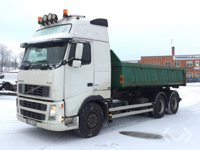 Volvo FH16 6x2 Hook trailer (swap body trailer) - 05