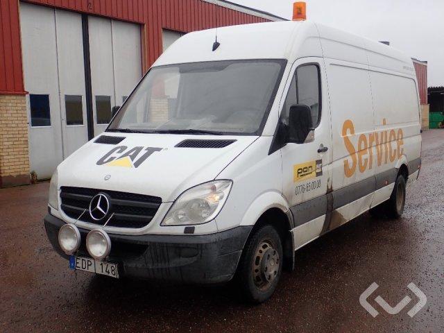 Mercedes Sprinter 519 CDI (190hk) (No export) 4x2 Box - 11