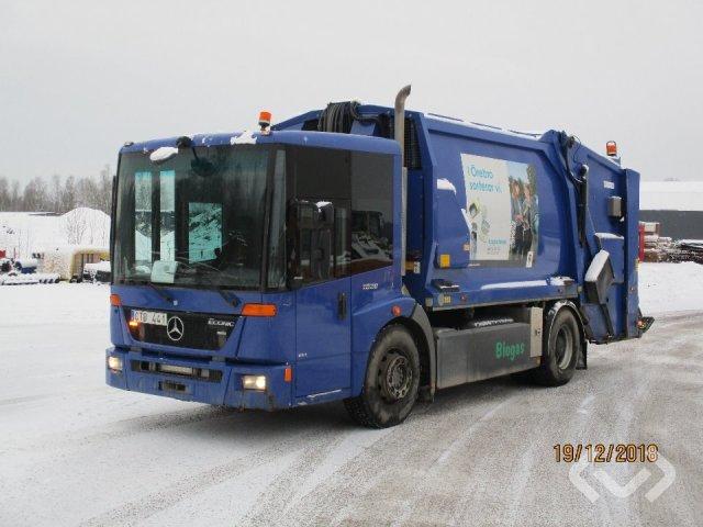 Mercedes 1828 4x2 Garbage truck (rear loader) - 11
