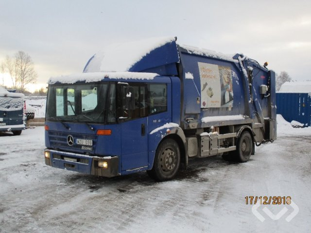Mercedes 1828 LL 4x2 Garbage truck (rear loader) - 05
