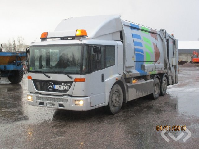 Mercedes 2628G L 4x2 Garbage truck (rear loader) - 07