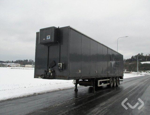 HRD NTL 3-axlar box Trailer (open side +tail lift + cooling unit) - 05