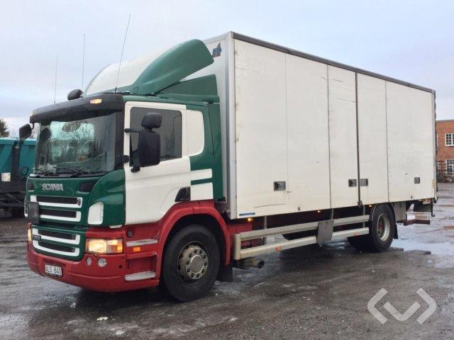 Scania P270DBMNA 4x2 Box (side doors + tail lift) - 07