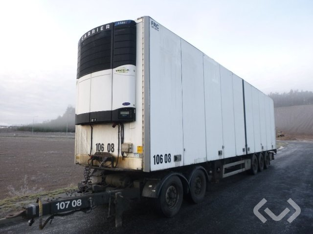 Närko S3HB13R61 3-axlar Box Trailer (opening side + chillers) - 08