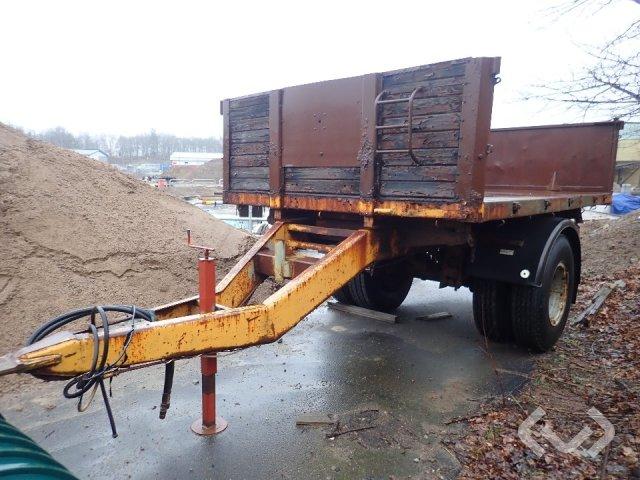 Kilafors SK-T 36 trailer (Rep. Obj) 1-axel Flatbed Trailer - 71