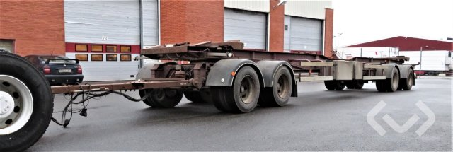 Mjölby trailer VFL4-104-36 4-axlar Demountable Trailer - 97