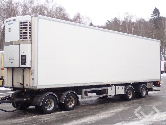 Norfrig WH4-38-120CF 4-axlar Box trailer (chiller + tail lift) - 08