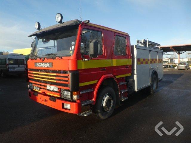 Scania P93ML 4x2 Firefighting vehicle - 89