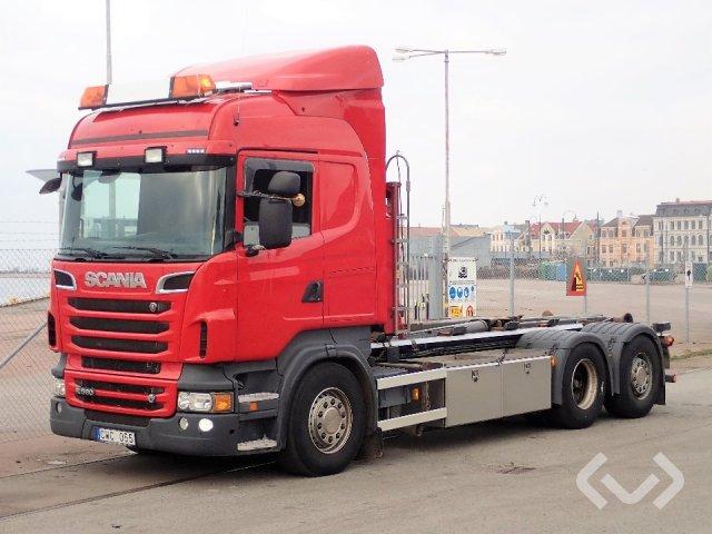 Scania R560LB HNB 6x2*4 Hook trailer (swap body trailer) - 12