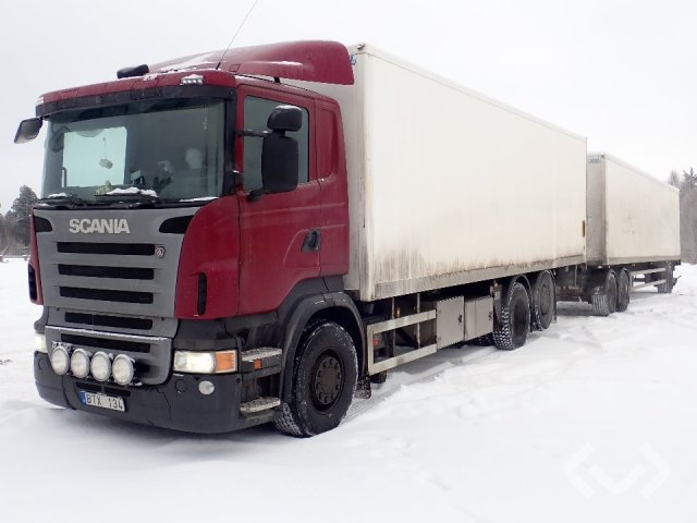 Scania R400LB MNA together with BTF 342 6x2*4 Box (tail lift) - 10