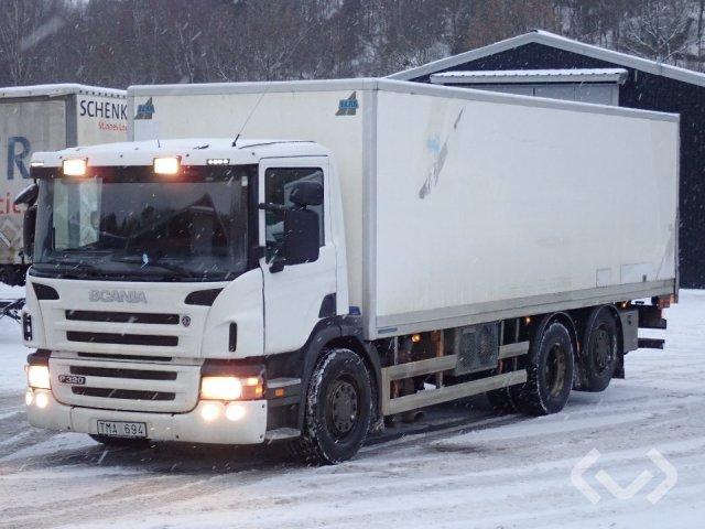 Scania P320DB MLB 6x2*4 Box (tail lift) - 10