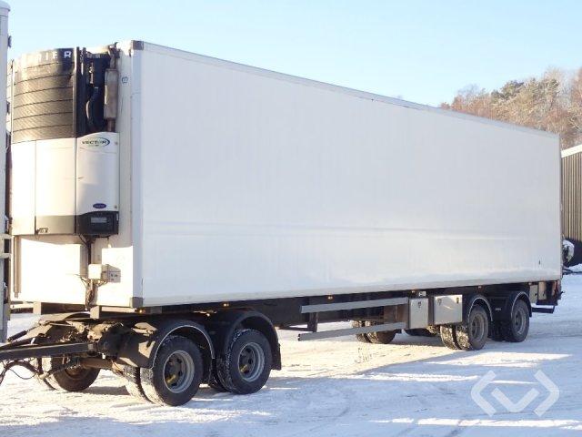 Norfrig WH4-38-1243CFM 4-axlar Box trailer (chiller + tail lift) - 10