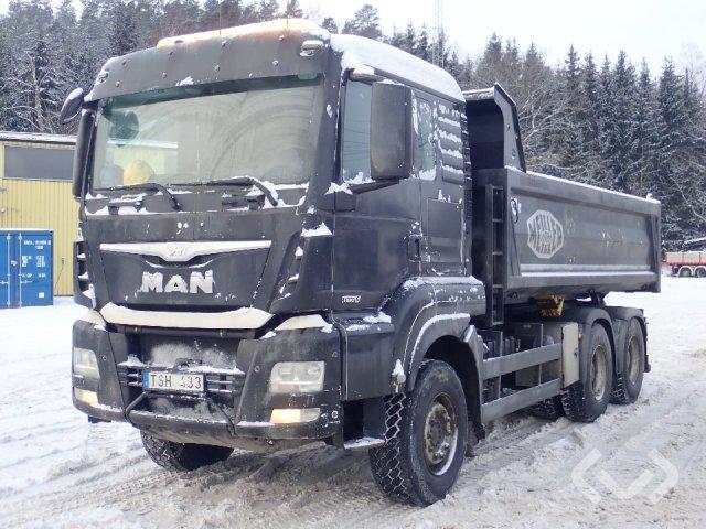MAN 30S (Euro 6) (No export) 6x4 Tipper - 14